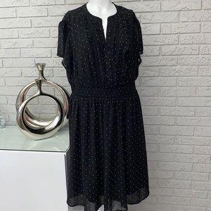 TORRID Polka Dot Dress Size 1